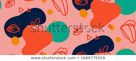 Iris · senza · soluzione · di · continuità · floreale · pattern · texture - foto d'archivio © studiostoks