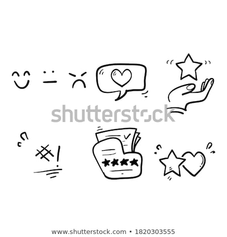 customer satisfaction concept with business doodle design style stock photo © davidarts