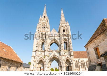 Saint-Jean-des-Vignes Abbey in Soissons Stock photo © benkrut