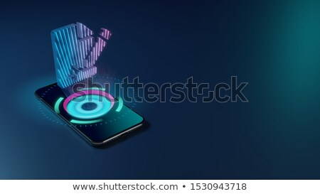 Folder Register Vision. 3D. Stock photo © tashatuvango