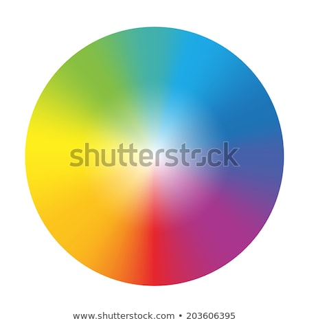 Arco iris arco iris círculo aislado primavera resumen Foto stock © MaryValery