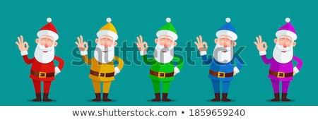 Cartoon montrent vecteur Noël Photo stock © NikoDzhi