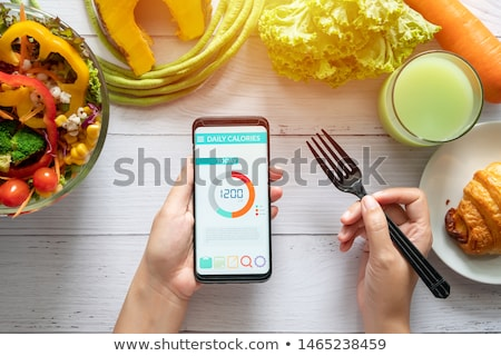 Dieting Technology Stock photo © Lightsource