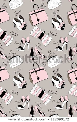 Cute stylish beige high heels Stock photo © boggy