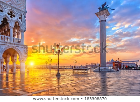 San Marco at dawn Stock photo © Givaga