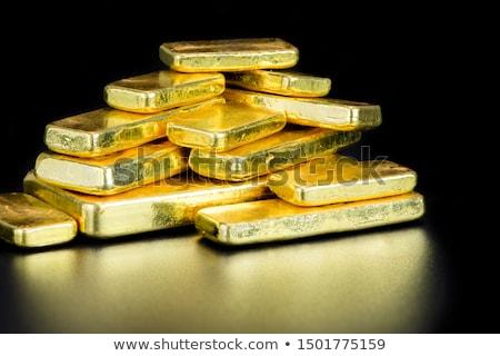 külçe · altın · arka · plan · Metal · bar - stok fotoğraf © oleksandro