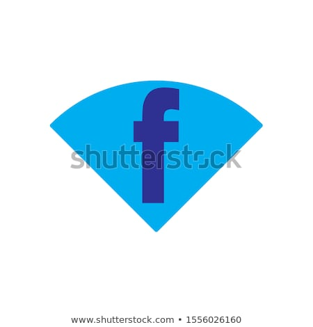 F betű ikon logo logotípus vektor színes Stock fotó © blaskorizov