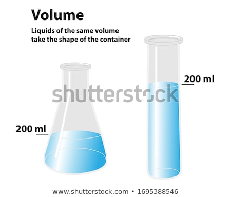 Different shapes of beakers Stock photo © colematt