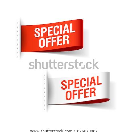 Wspaniały jakości sprzedaży oferta specjalna premia zniżka Zdjęcia stock © robuart