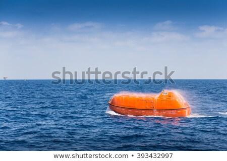 Marine Reise Rettung Boot Polizei Stock foto © robuart