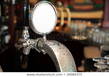 Beer Tap Condensation Stock photo © albund