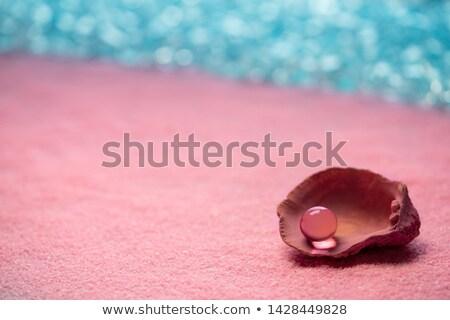 Pearl розовый песок пляж Летние каникулы природы Сток-фото © lunamarina