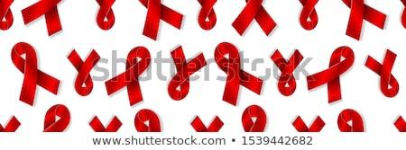 mundo · sida · dia · símbolo · dezembro · realista - foto stock © olehsvetiukha