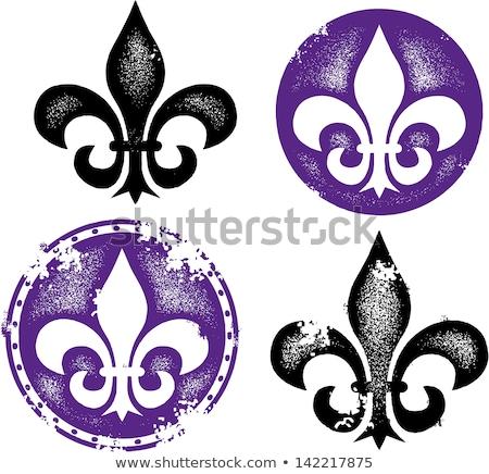 New · Orleans · liliom · francia · terv · zászló · új - stock fotó © cidepix