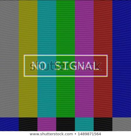 Vettore tv rumore texture distorto schermo Foto d'archivio © Iaroslava