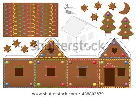 House Model And Papers Stock photo © AndreyPopov