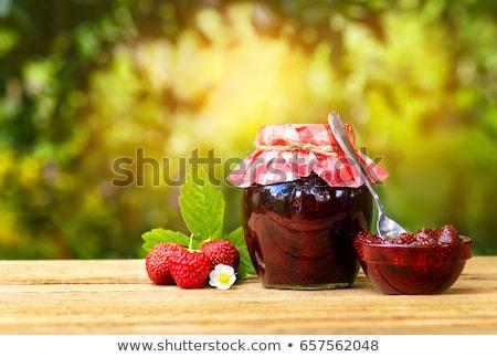 Jam · апельсинов · фрукты · таблице · завтрак · лимона - Сток-фото © tycoon
