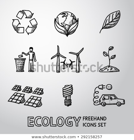 icônes · technologie · vecteur · eps - photo stock © abdulsatarid