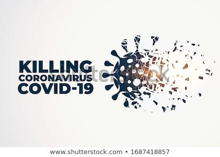 Coronavirus gezondheid wetenschap gevaar nood virus Stockfoto © SArts