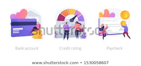 Banking procedures vector concept metaphors Stock photo © RAStudio