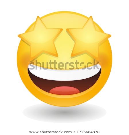 星 目 顔文字 幸せ 星 にログイン ストックフォト © yayayoyo