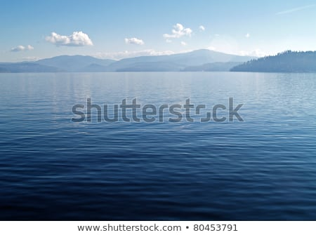 Dağ göl derin mavi gökyüzü Idaho ABD Stok fotoğraf © Frankljr