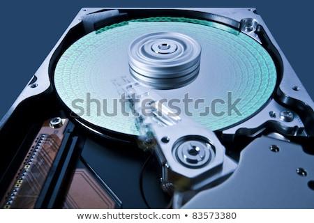 Merevlemez vezetés mozog fej kinyitott számítógép Stock fotó © gewoldi