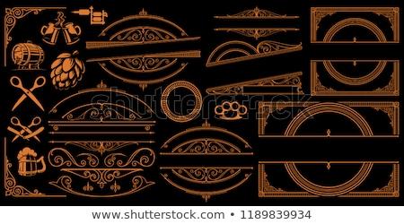 アンティーク 真鍮 はさみ シャット ダウン キャンドル ストックフォト © premiere