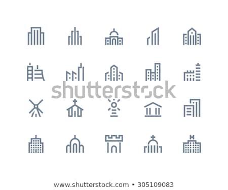 Construction icons   MARINE series Stock photo © sahua