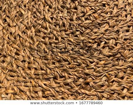 basketry traditional interlaced dried texture Stock photo © lunamarina