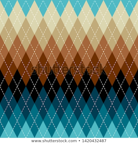 Argyle and plaid patterns Stock photo © Losswen