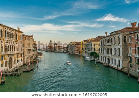 Италия · Венеция · базилика · тонкий · канал · здании - Сток-фото © vichie81