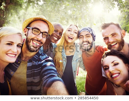 portrait of group of people stock photo © hasloo