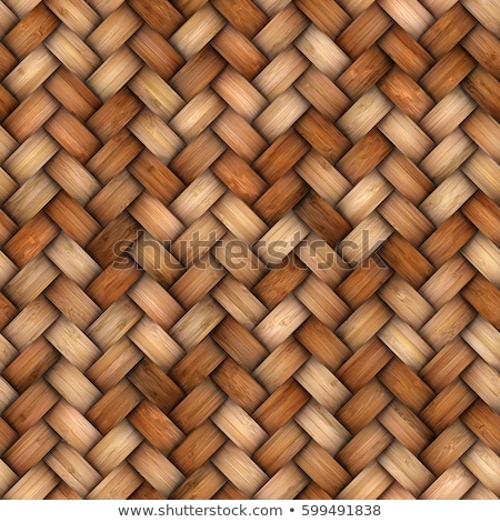 wicker wood pattern stock photo © witthaya