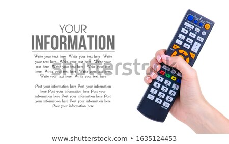 Single infrared universal remote control Stock photo © boroda