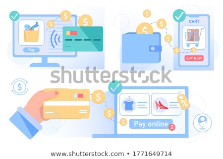 making a payment from wallet foto stock © stuartmiles