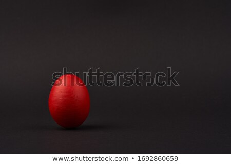 yumurta · siyah · kabukları - stok fotoğraf © yurikella