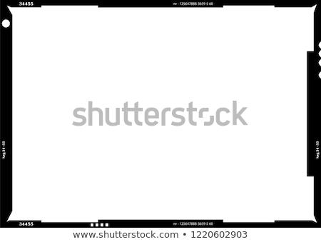 medium format film frame stock photo © taigi