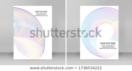 abstract annual rings Stock photo © prill