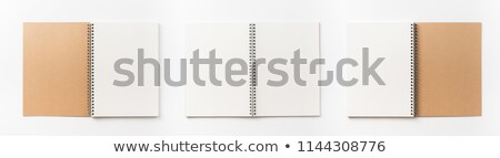Front and back view of book Stock photo © designsstock