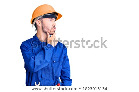 Confused mechanic Stock photo © sumners