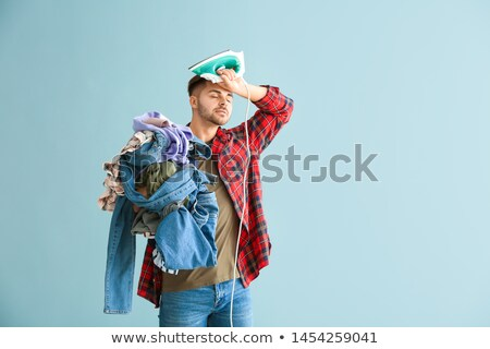 Portrait of an unwilling man Stock photo © photography33