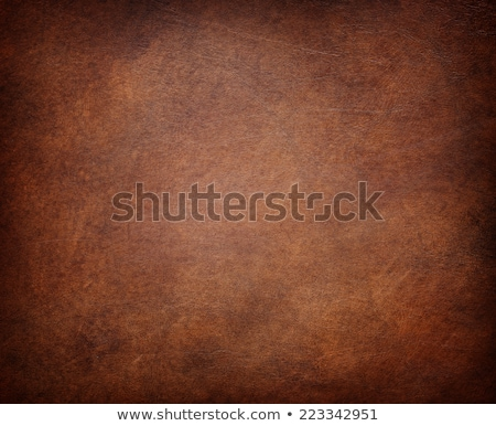 Brown leather texture closeup stock photo © homydesign