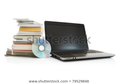 stack of books and cd stock photo © a2bb5s