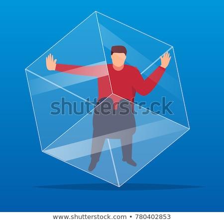 prison cube Stock photo © drizzd