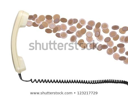 starych · europejski · waluta · biuro · telefonu · telefon - zdjęcia stock © pterwort