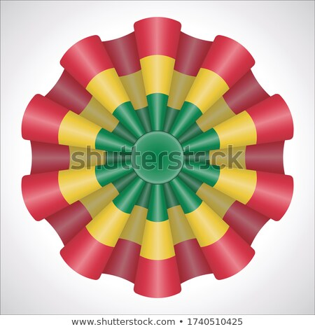Bolivia rosette flag Stock photo © milsiart