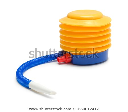 Air pump isolated on a white background. Stock photo © ozaiachin