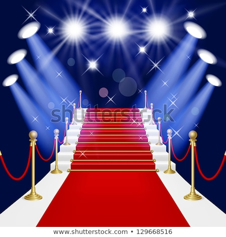 Ladders with red carpet Stock photo © lina0486