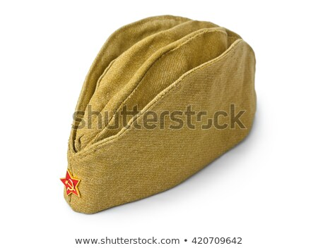 Szovjet hadsereg katonák textúra zöld szövet Stock fotó © ultrapro